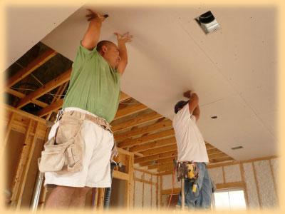 Montáže sádrokartonových stropů