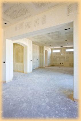 Obklady stropu a stěn sádrokarton