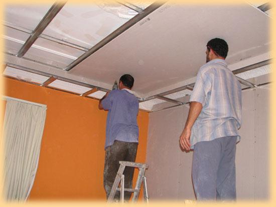 Sádrokartonové obklady stropů